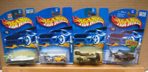 HotWheels ,  mostly  discontinued  Diecast Models ,  in Original