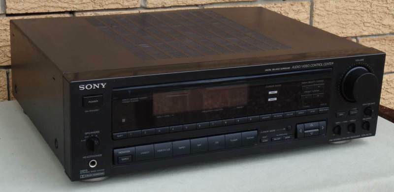 Sony str av770x audiovideo stereo receiver stereo systems sony str av770x audiovideo stereo receiver algester brisbane south west image 2 fandeluxe Gallery