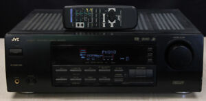 500 watt JVC RX 6000V Receiver w/remote