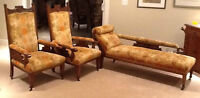 Eastlake Chaise Lounge and 2 matching Chairs