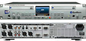 HHB 882 Professional Dual Burn CD Recorder
