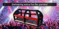 Bouncy Sports arena for rent. Great for events and parties!