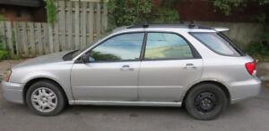 2004 Subaru Impreza Hatchback - Good condition