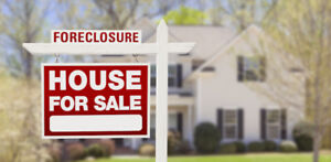 FREE LIST of FORECLOSURES!