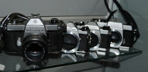 Used SLR Film camera Bodies for sale Starting at 29.95