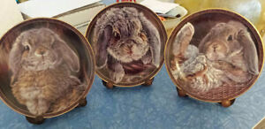 """""""Bunny Tales"""" collector plates"""