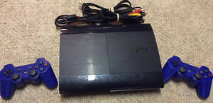Playstation 3 with 2 Controllers and 15 Games!