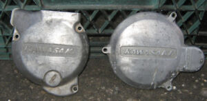 Kawasaki Engine Side covers , case , clutch , gear shifter cover
