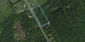 PRIVATE BUILDING LOT NEAR CORNWALL & LONG SAULT