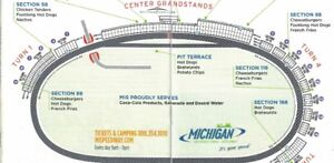 2 TICKETS FOR THE MICHIGAN NASCAR RACE AUG. 12- 2018