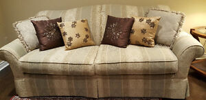 Sofa, Loveseat and Chair - excellent condition !