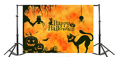 Happy Halloween Baby Photography Props Background 7x5ft Studio Props (Happy Halloween Background)