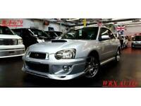 2004 Subaru Impreza WRX AUTO TURBO + STI EXHAUST Saloon Petrol Automatic