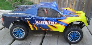New Short Course RC Truck Electric 4WD 2.4G 1/10 Scale Kitchener / Waterloo Kitchener Area image 3