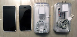 Iphone 5C with 8g (two for sale)