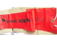 Diver's surface marker buoy & reel