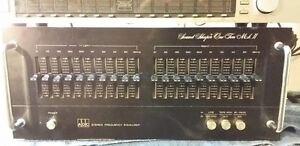 Home stereo graphic equalizer Kenwood ADC Realistic