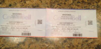*****Billets-Madonna-Rebel Heart Tour*****