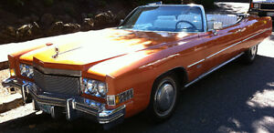 **SOLD** Classic Beauty - 74 Caddy Convertible