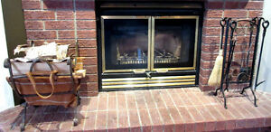 Complete Fireplace set only $70 for both pieces