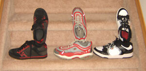 Footwear - sz 5, 6, 7 (mens) / Clothes sz 7, 8, 10, 12