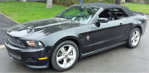 FORD MUSTANG 2012 PREMIUM V-6 305 H.P. AUTOMATIC ,A/C , CUIR