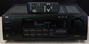 500 watt JVC RX 6000V Receiver w/remote