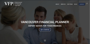"Website for Sale- ""Vancouver Financial Planner"" - $1500"