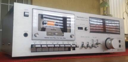VINTAGE TECHNICS RS/MX HEAD TAPE DECK/MADE IN JAPAN