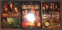 Pirates of the Carribean 1-3 on DVD