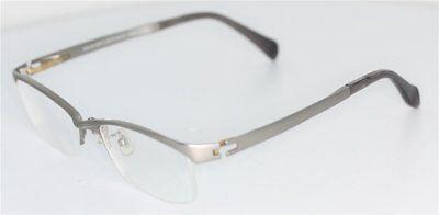 J!NS MMN-14A-487B Brille Silber matt/Gold glasses lunettes FASSUNG JINS (Jins Brille)