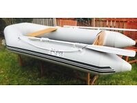 Xm230 dinghy and 1999 4hp outboard