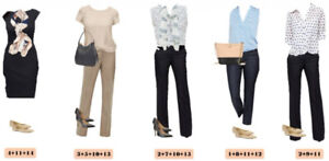 Searching for women's business casual clothing sz 13/14 or sz L