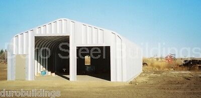 Durospan Steel 25x52x16 Metal Garage Shop Rv Boat Storage Building Kit Direct