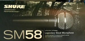 SHURE SM58 LC Microphones (brand-new)