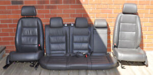 Volkswagen Jetta 2006 Front and Rear Leather Seats