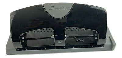 Swingline A7074133 Smarttouch Low Force 20 Sheet Punch Capacity 3- Hole Punch