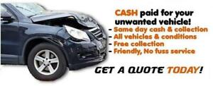 We Pay Top Dollar For 2000-2010 <>Unwanted Cars | Scrap Vans | Junked Cars | Salvage Junk Cars Dead cars | Accident cars