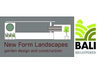 New Form Landscapes has an exciting opportuntiy for experienced hard landscaper