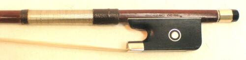Vintage Richard Geipel cello bow