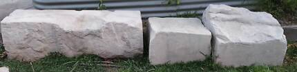 Sandstone - 6 large blocks for garden or retaining wall Warnervale Wyong Area Preview