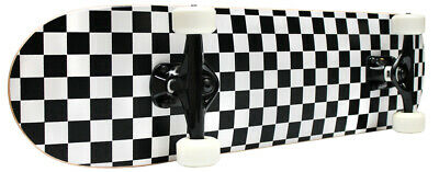 CHECKER SKATEBOARD New PRO COMPLETE Checkers ABEC 5 ()