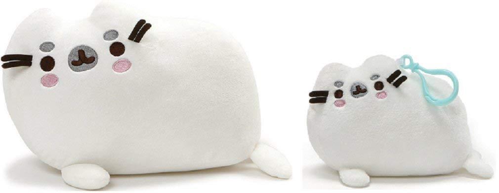 """GUND Pusheen Pusheenimal Seal Plush Stuffed Animal 13"""" & B"""