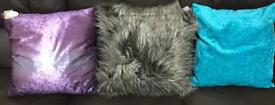 3 x New Dunelm Cushions