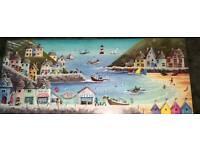 Seaside canvas
