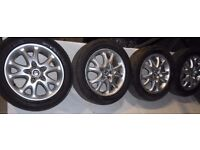 !! CLEARANCE !! Alfa Romeo 5x98 16'' alloy wheels with tyres 205/55/16