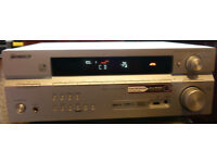 Pioneer VSX-516-S, AV Receiver, 6.1 Channel Amplifier, Tuner, USB with Remote Control - used