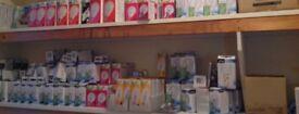 Joblot 375 lightbulbs/spotlights/cooker/fridge lights, 28 fuses new in retail packaging