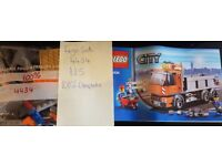 Various Lego City Sets from £3 100% complete
