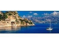Cheap flights from London Gatwick to Corfu - this Bank Holiday -